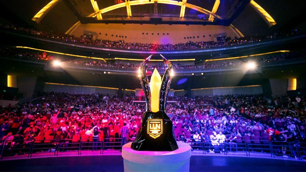 Trofeo de la gran final de la LLN 2017