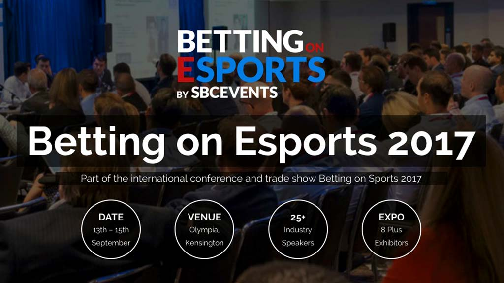 Conferencias en Betting on Esports (Apuestas en Esports)