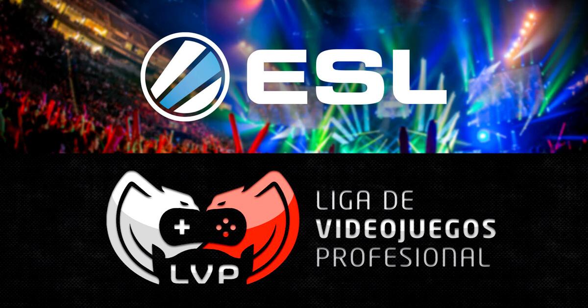 La Liga de Videojuegos Profesional y la Electronic Sports League,