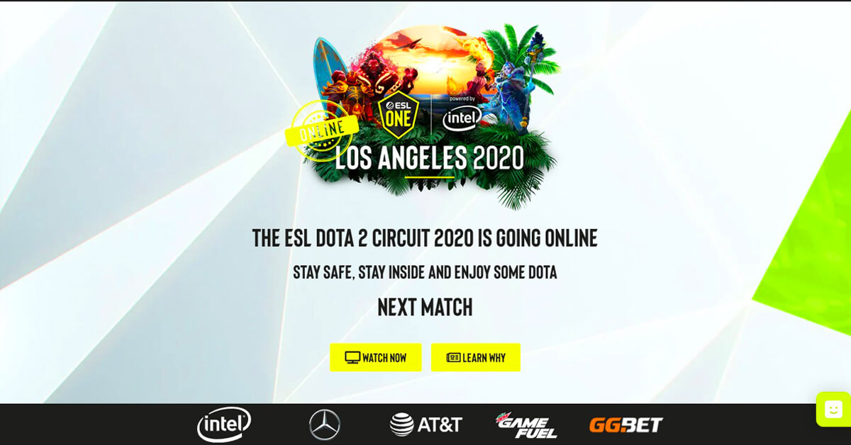 ESL Dota 2 Circuit
