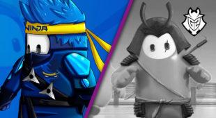 Ninja le Roba las Ilusiones a G2 de Tener su Propia Skin en Fall Guys