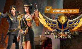La Leyenda de Horus Nuevo Pase Élite Free Fire