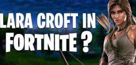 Fortnite: Lara Croft De Tomb Raider Sería El Siguiente Skin