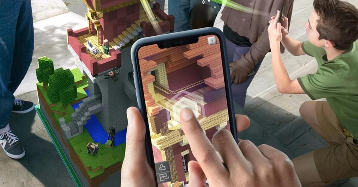 Minecraft Earth Estilo Pokémon Go, Cerrará Sus Servidores En Junio