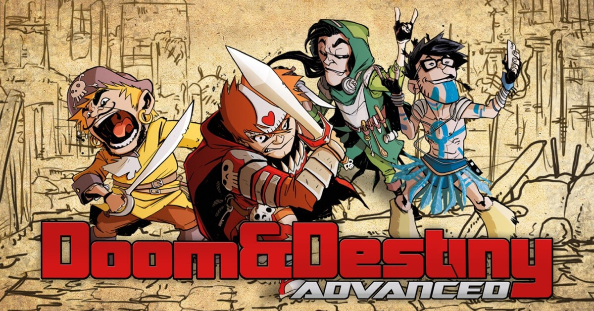 Doom & Destiny Advanced; Estreno 19 De Febrero En Nintendo Switch